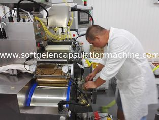 China Automatic Capsule Filling Machine for food-fish oil, Vitamin, and Bee Honey leverancier